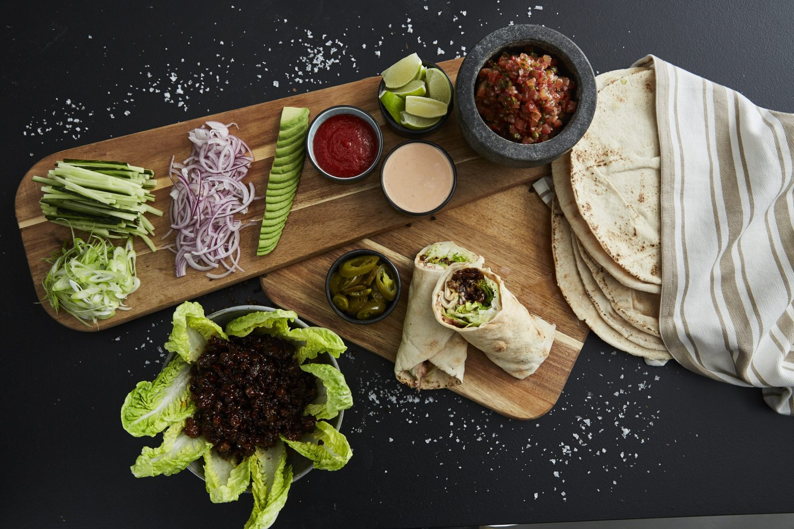 Asiatisk taco