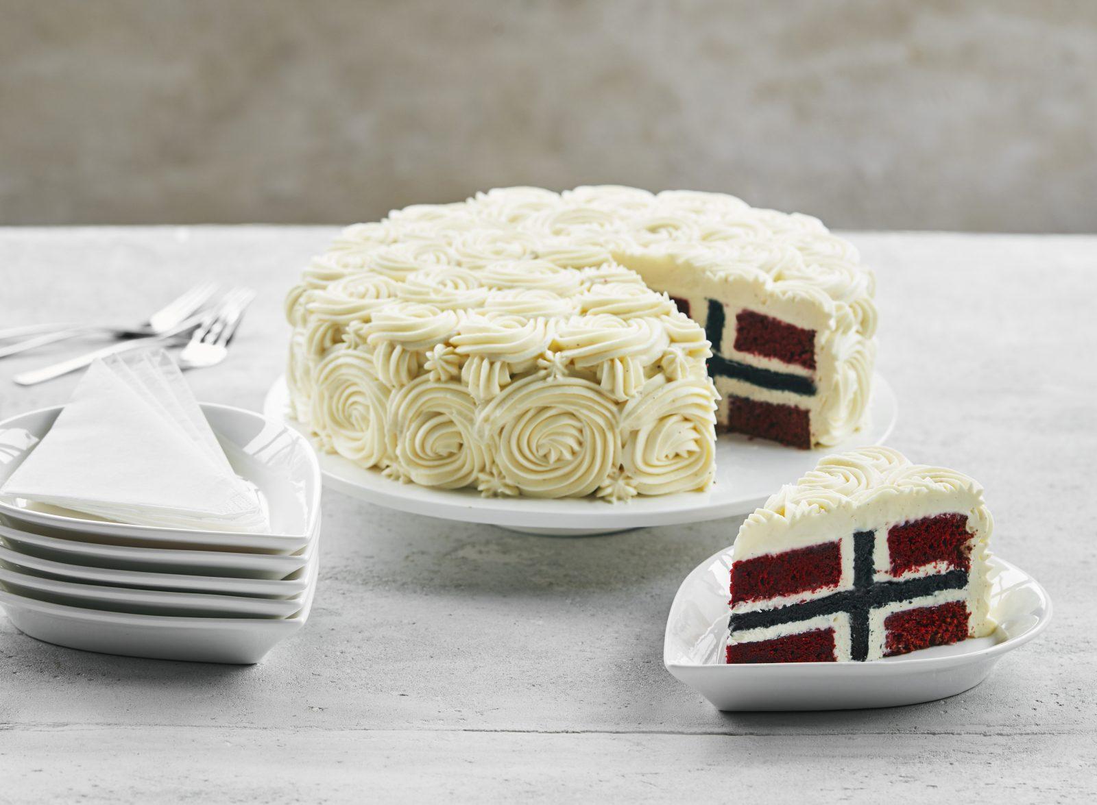 Bak 17.mai kake med Mette Blomsterberg