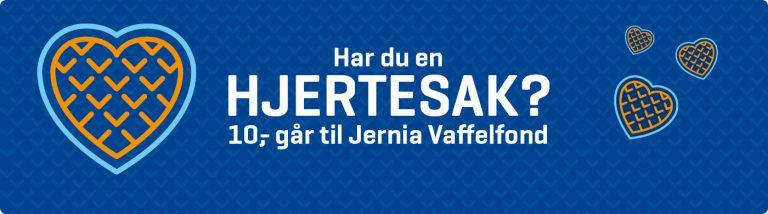 Velkommen til Jernia Vaffelfond