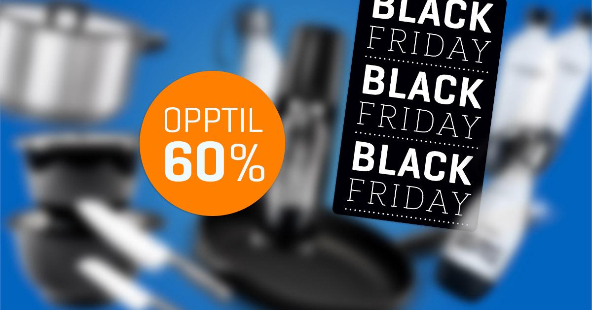 Black week Hjem & hage | Norsk butikk Rask levering