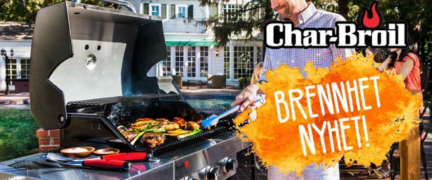 Nyt maten ute med Char-Broil griller