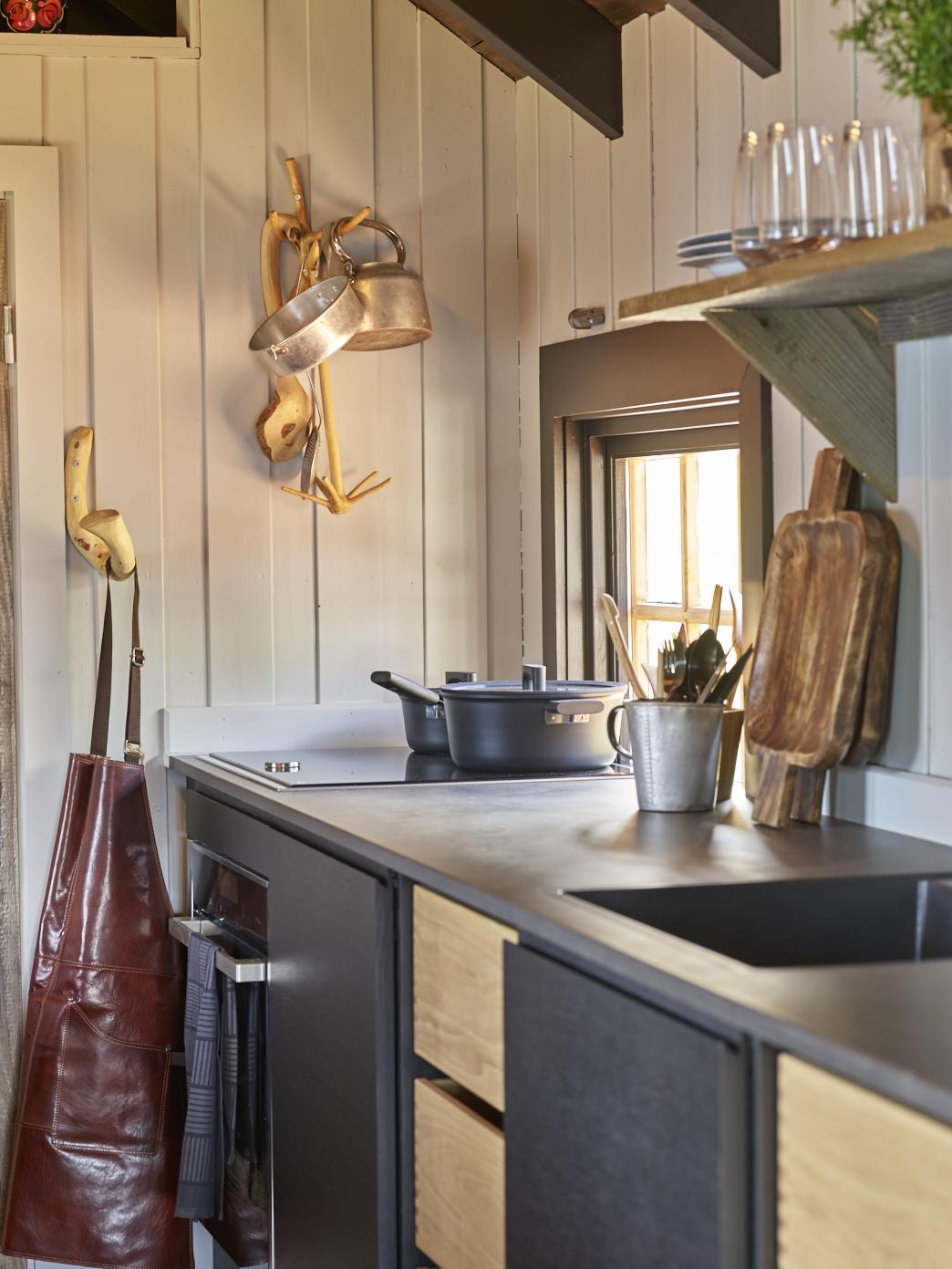 Jernia har bistått med mange produkter til kjøkkenet