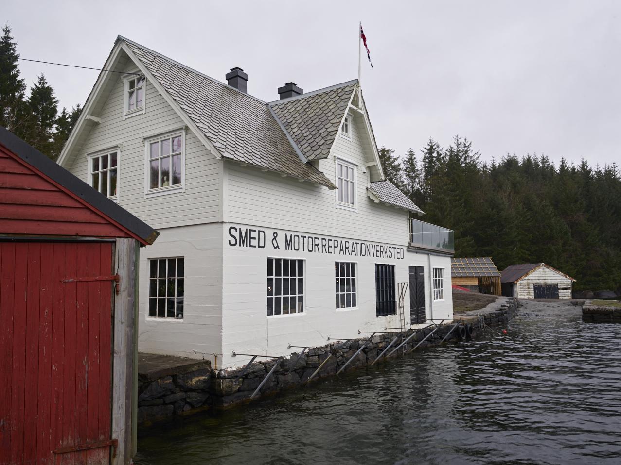 Eventyrlig oppussing av Smia i Bergen