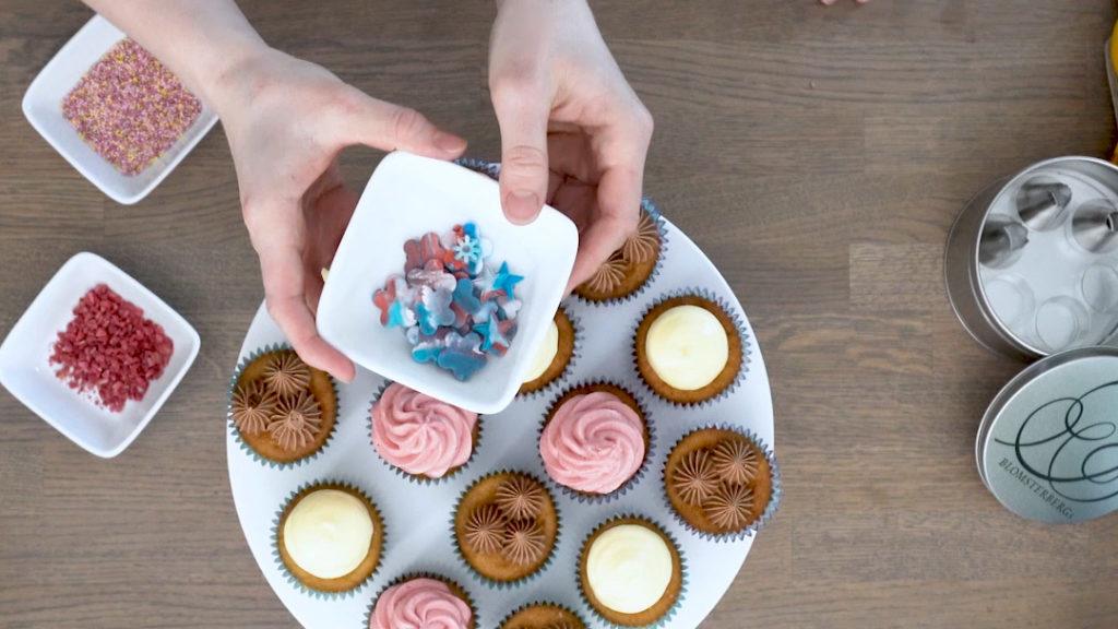3 enkle sprøyteteknikker for flotte muffins