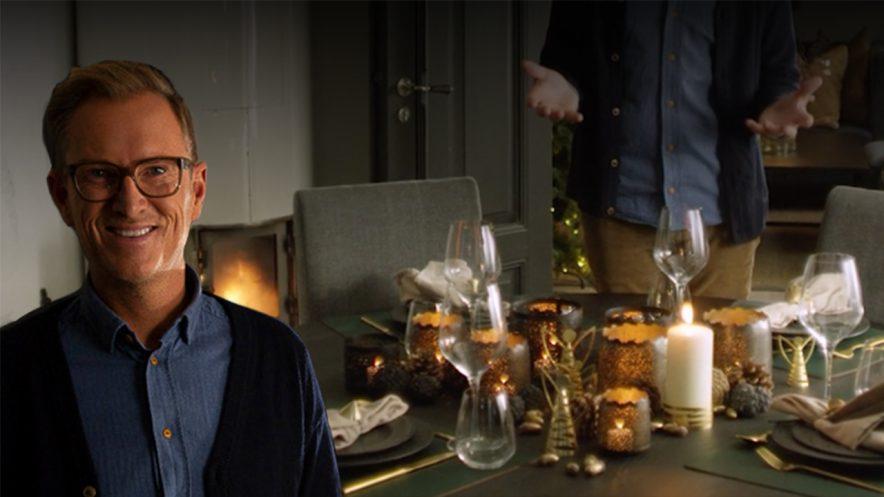 Dekke bord til jul med Halvor Bakke