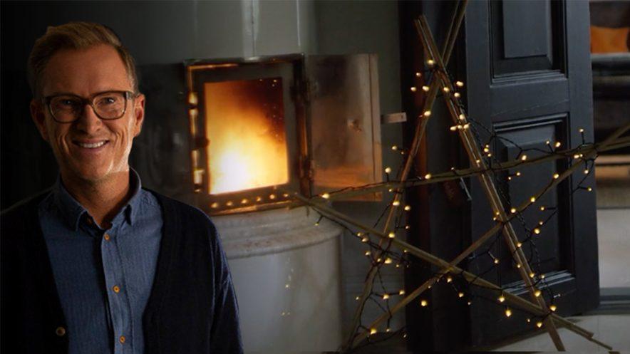 Hjemmelaget julepynt med Halvor Bakke: Julestjerne
