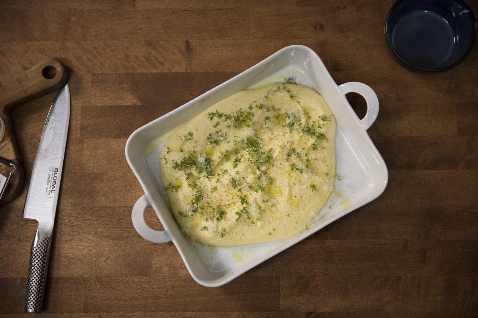 Potetpuré med ost