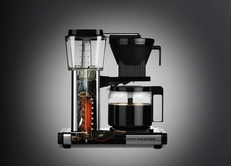 """En av grunnene til at Moccamaster kaffetrakter ble best i test er trakteprosessen som gir """"smooth"""" kaffe."""