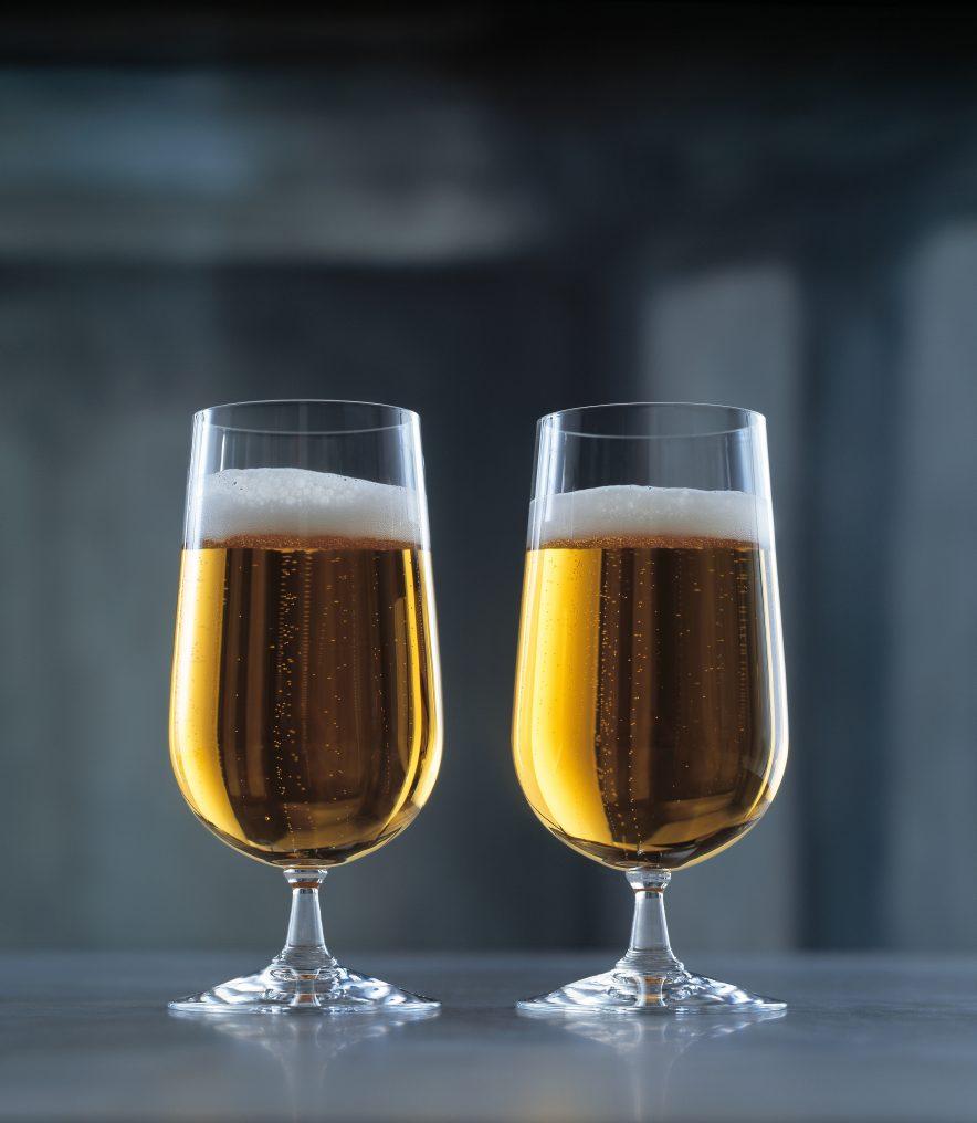 Med riktig ølglass får du fram aromaen mye bedre