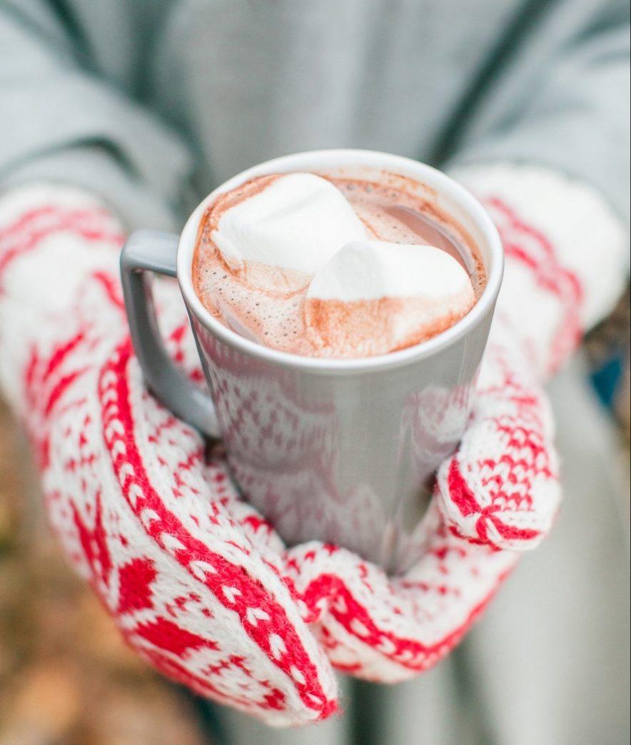 kakao med marshmellows og kanel