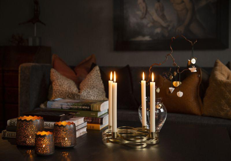Skap et moderne juleunivers med ny og klassisk julepynt