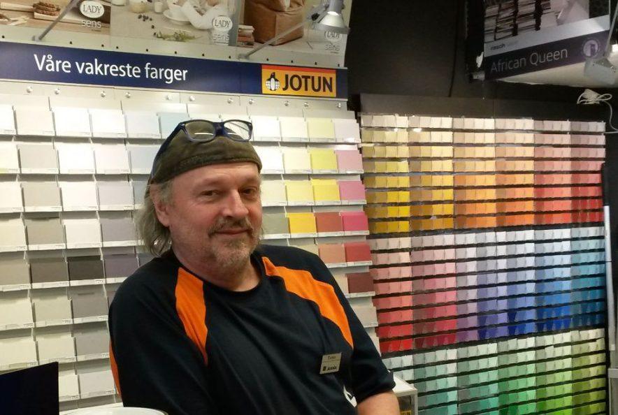 Totto-malingsekspert på Jernia Røa