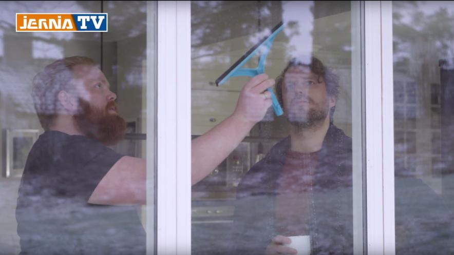 Vaske vinduer som en proff