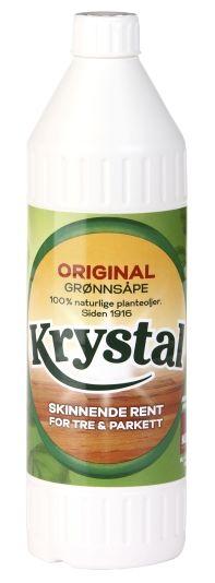 KRYSTAL GRØNNSÅPE 0,75L