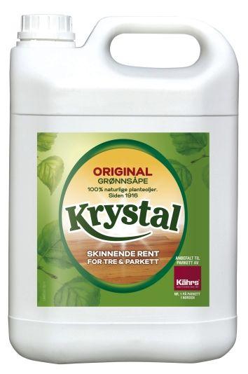 KRYSTAL GRØNNSÅPE 5L