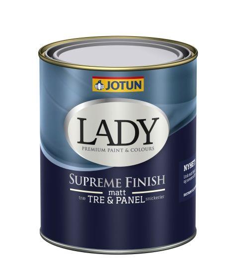 JOTUN LADY SUPREME FINISH 05 HVIT-BASE 0,68L