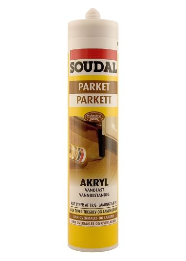 PARKETTKITT TEAK/MERBAU 310ML