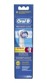 Oral-B Børstehoder Precision Clean, 4 pluss 1STK