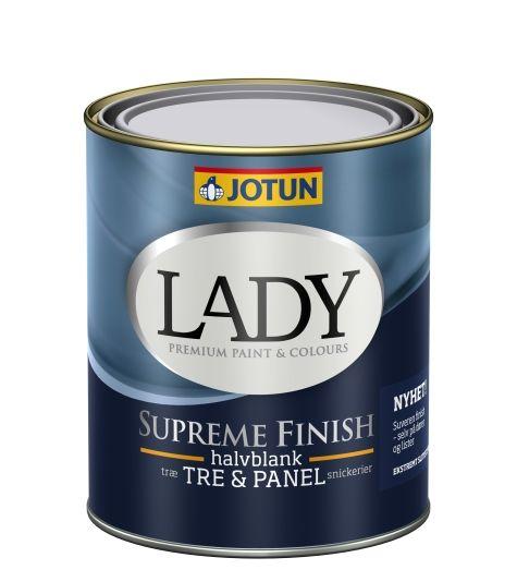 LADY SUPREME FINISH 40 HVIT-BASE 0,68L