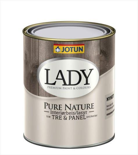 JOTUN LADY PURE NATURE INTERIØRBEIS KLAR-BASE 0,68L