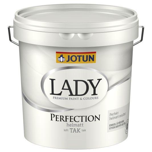 JOTUN LADY PERFECTION TAK HVIT-BASE 3L