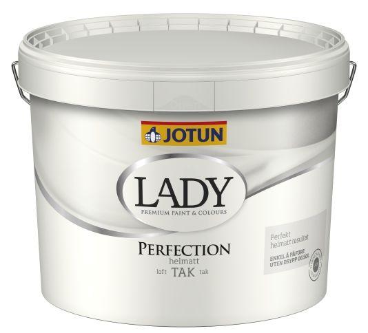 JOTUN LADY PERFECTION TAK HVIT-BASE 10L
