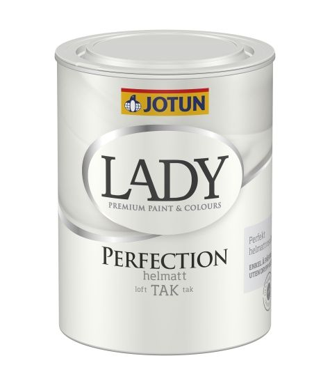 JOTUN LADY PERFECTION TAK HVIT-BASE 0,68L