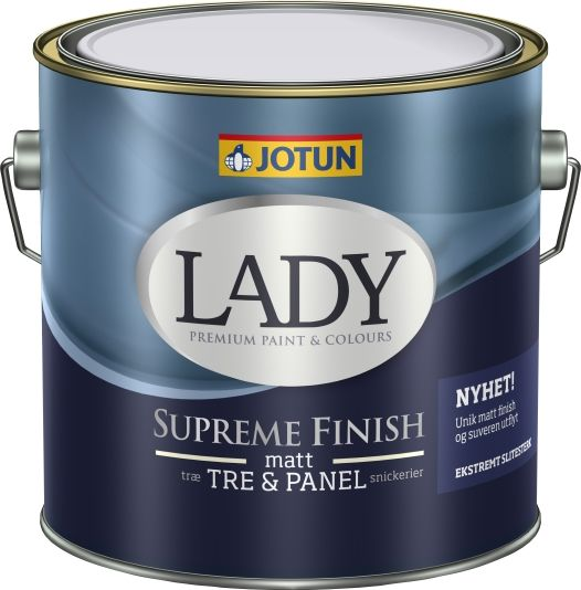 JOTUN LADY SUPREME FINISH 05 HVIT-BASE 3L