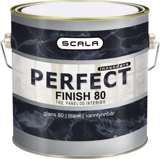 SCALA PERFECT FINISH 80 HVIT-BASE 3L