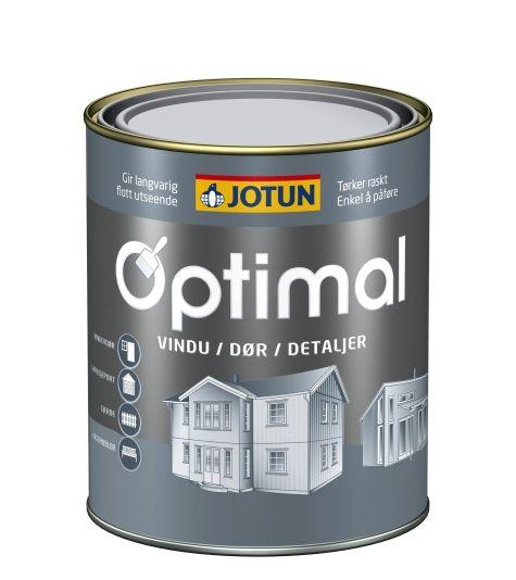 OPTIMAL VINDU/DØR HVIT-BASE 0,68L
