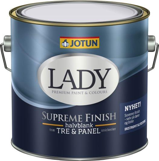LADY SUPREME FINISH 40 HVIT-BASE 3L