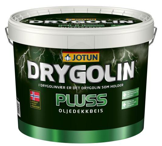 DRYGOLIN PLUSS OLJEDEKKBEIS HVIT 10L