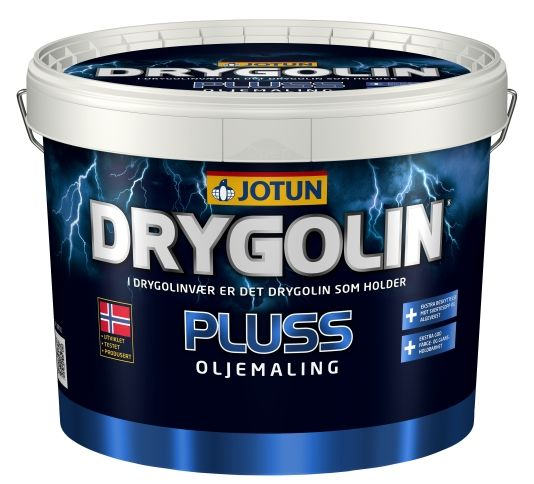 DRYGOLIN PLUSS OLJEMALING HVIT 10L