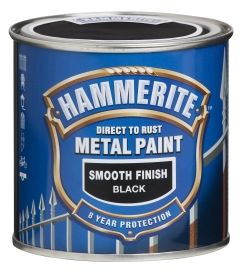 Hammerbite Metallmaling Sort, 250ML