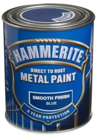 Hammerite Smooth Finish Blå 750ML