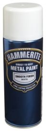 Hammerite Smooth Finish Hvit 400ML
