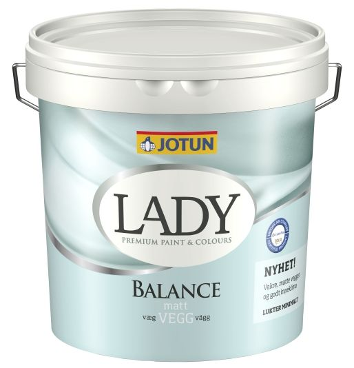 LADY BALANCE HVIT-BASE 3L