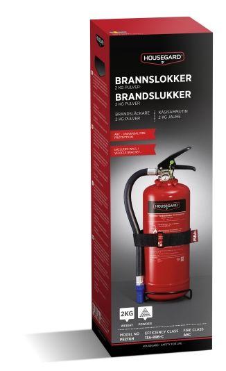 HOUSEGARD BRANNSLUKKER 2KG PE2TGH SLOKKEEFFEKT 13A 89B C