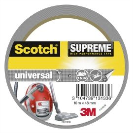 SCOTCH LERRETSTAPE SUPREME SØLV 10MX48MM