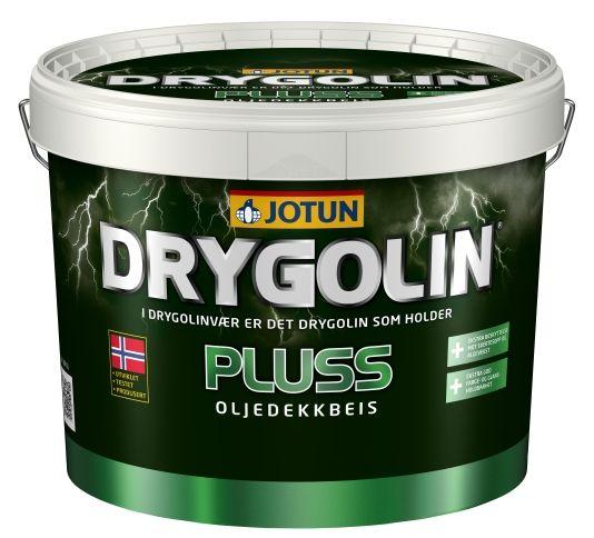 DRYGOLIN PLUSS OLJEDEKKBEIS HVIT 3L