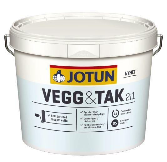 JOTUN VEGG OG TAK HVIT / A-BASE 2,7L