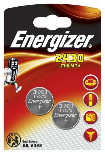 Berömda ENERGIZER BATTERI CR2430 3V 2PK - Batteri - Jernia.no WI-12
