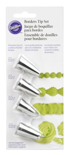 TIP SET, BORDER, 4 PC