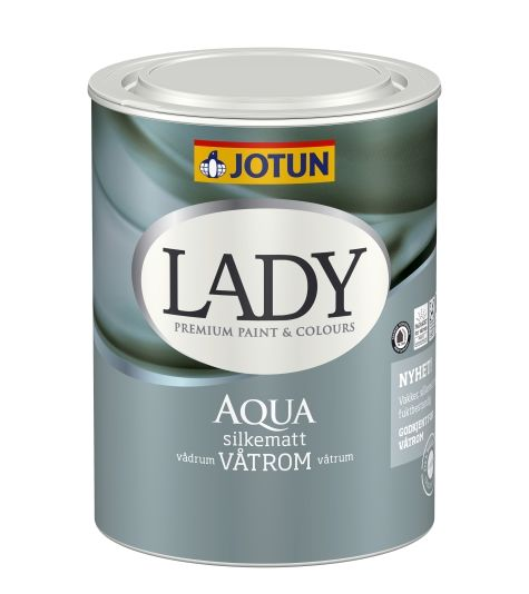 JOTUN LADY AQUA HVIT BASE 0,68L