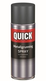 METALLGRUNNING SPRAY GRÅ 400ML