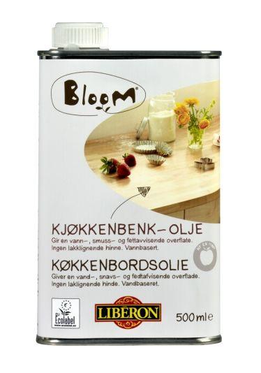LIBERON BLOOM VANNBASERT OLJE FOR KJØKKENBENK