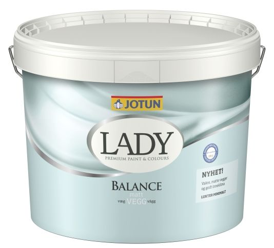 LADY BALANCE HVIT BASE 9L
