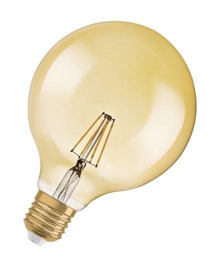 LED LYSPÆRE G125 35 GOLD E27 4W IKKE DIMMBAR