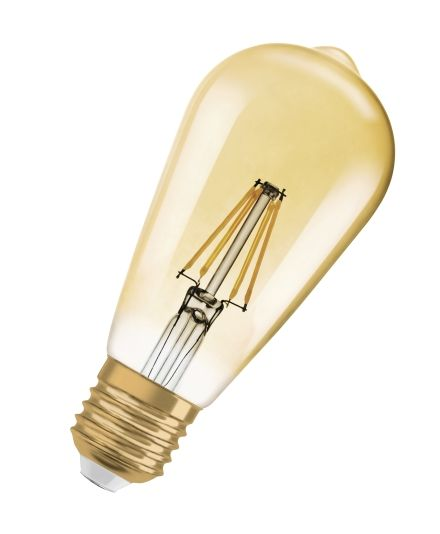 LED EDISON 1906 35 GOLD E27 4W