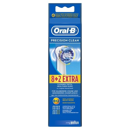REFILLPAKKE ORAL-B 8+2STK
